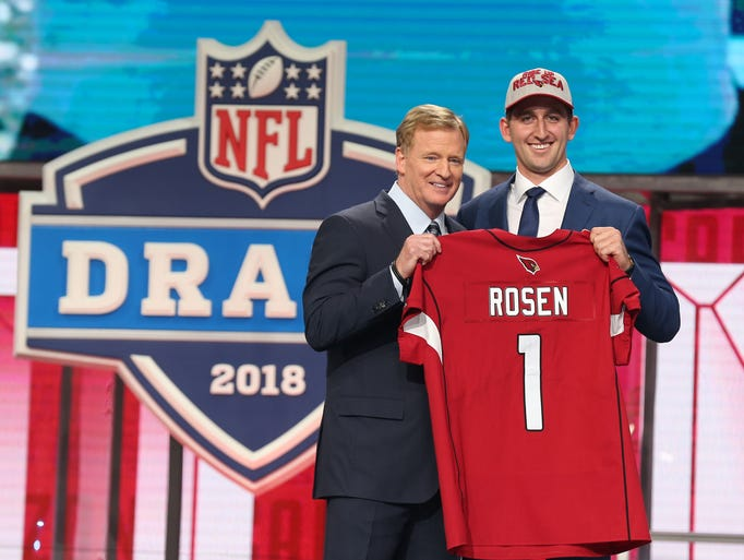 Image result for josh rosen draft
