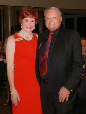 Jennie Inch, honoree, and Harold Matzner, donor and partial underwriter of the event.