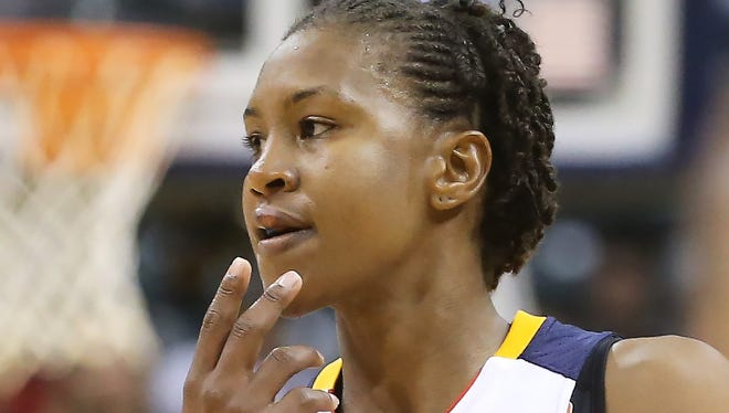 Fever player Tamika Catchings.