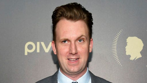 "FILE - In this May 21, 2016 file photo, Jordan Klepper attends the 75th Annual Peabody Awards Ceremony in New York. Comedy Central said Tuesday that Klepper will bring his ""Daily Show"" persona with him when his show debuts this fall. It will air Monday through Thursday at 11:30 p.m. Eastern, following Trevor Noah's ""Daily Show."""