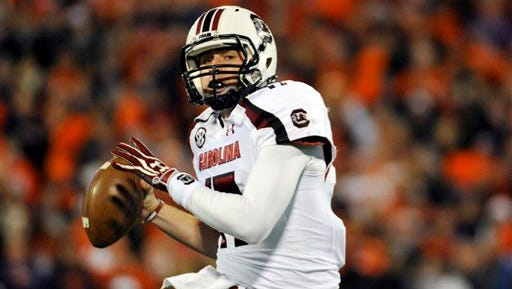 Dylan Thompson will play at Auburn on his birthday Oct. 25.