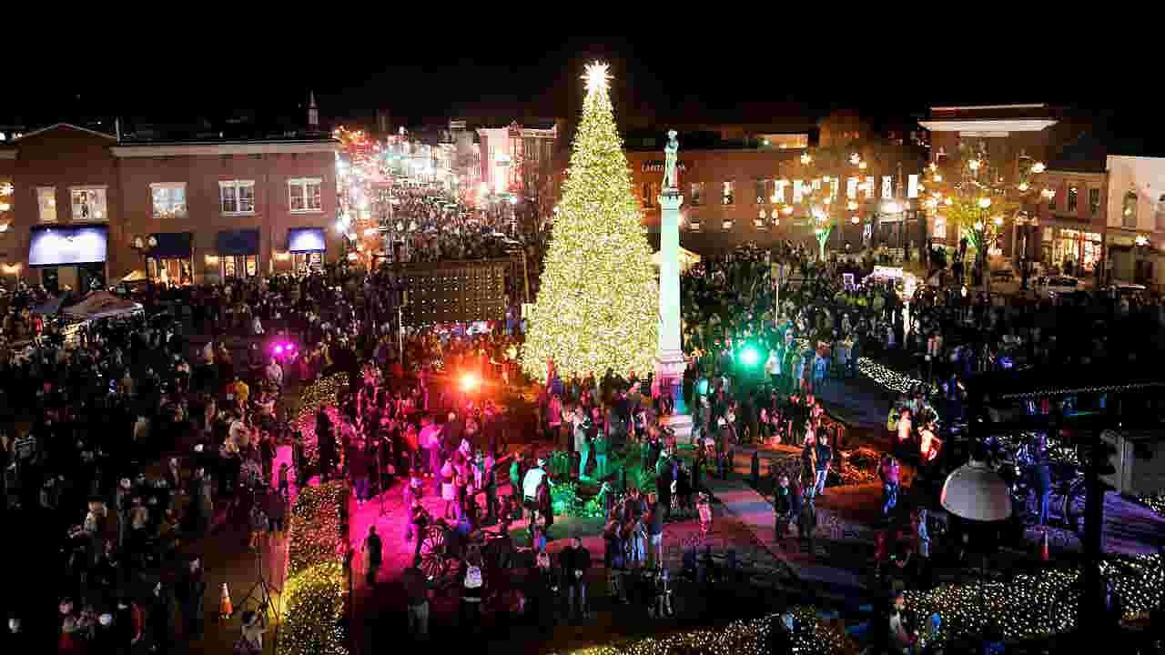 christmas lights in nashville where to go to see the lights - Where To Go See Christmas Lights