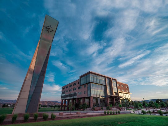 The Dixie State University campus.