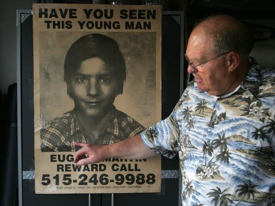Retired Des Moines Police Investigator James Rowley