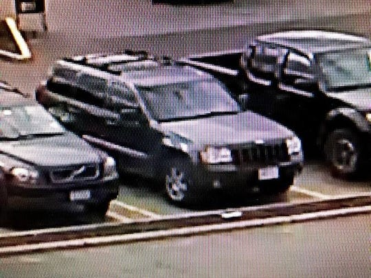 Ramapo police said they are looking for a woman who left the Tallman ShopRite in this green Jeep Grand Cherokee after stealing a pocketbook on April 29, 2018.