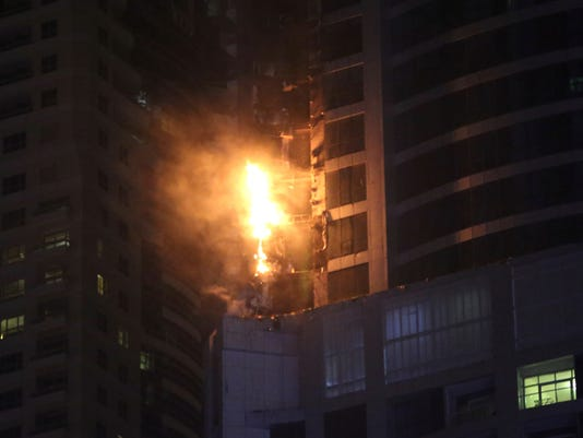 AP DUBAI TOWER FIRE I ARE