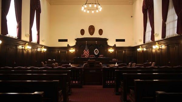 U.S. Circuit Court of Appeals panel room