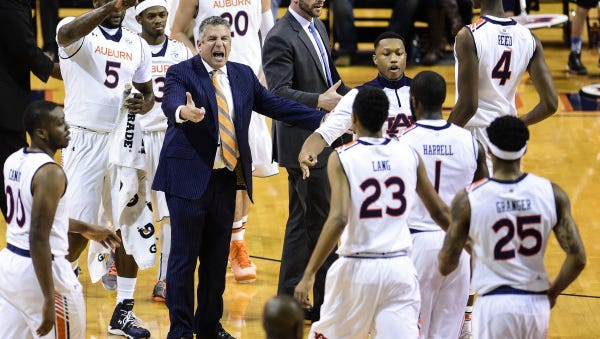 Bruce Pearl is at the helm of an Auburn team that has started 4-5.