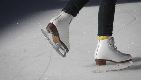 The UBS Ice on Main ice skating rink closes today.