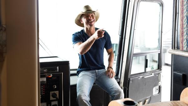Kenny Chesney is kicking off his new tour.