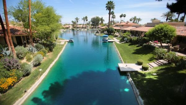 The community of Lake Mirage in Rancho Mirage.