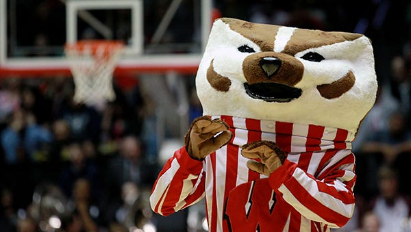 Wisconsin mascot Bucky Badger