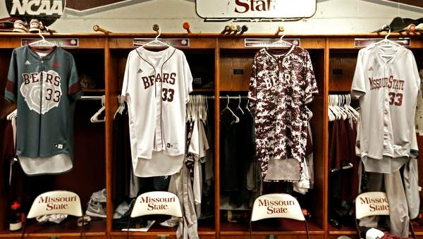 Look at all these jerseys. They've all been worn by MSU this season.