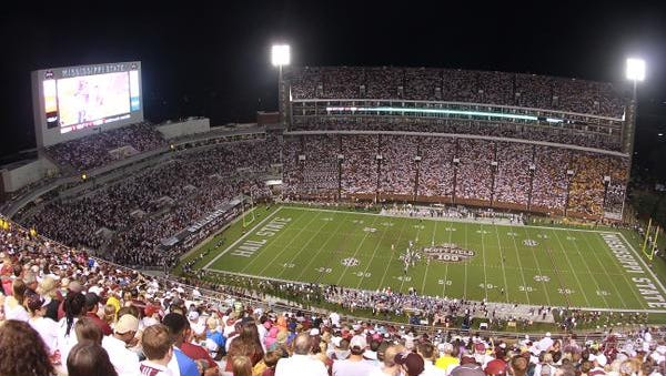 Mississippi State will open Davis Wade Stadium in 2015 with a night game against LSU.