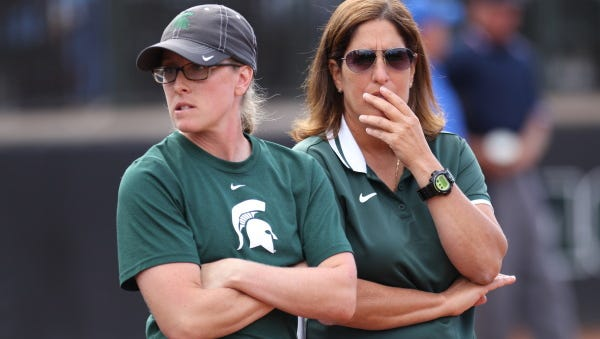 Prosecutors in Ingham and Isabella counties won't press charges against MSU softball coaches Jacquie Joseph and Jessica Bograkos based on allegations they conspired to intentionally hit a player during batting practice.