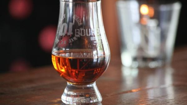 A snifter of Pappy Van Winkle's Family Reserve at Bourbons Bistro in Louisville, KY. June 23, 2015