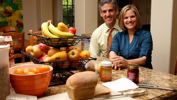 Daniel and Vicki Fontoura are pictured at their home in Loma Linda, Calif.