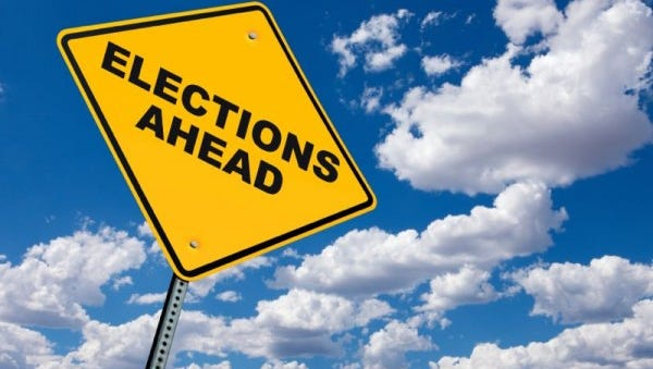 Candidates named for upcoming elections.