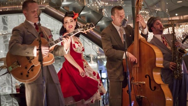 The Jennifer Keith Quintet is set to perform during Palm Desert's Swing 'n' Hops Street Party on El Paseo Saturday.