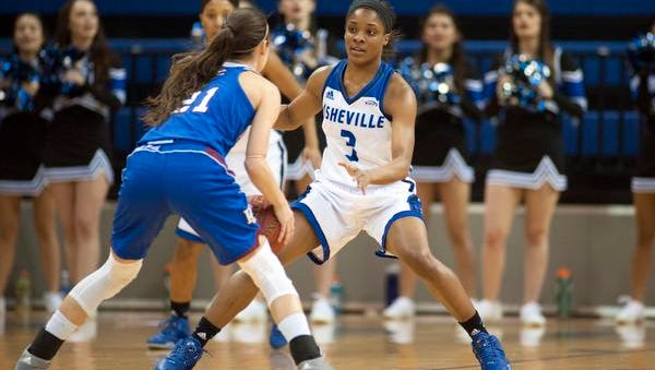 Chatori Major made three free throws down the stretch to help UNC Asheville hold off Longwood.