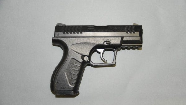 Airsoft gun recovered from Gaston.