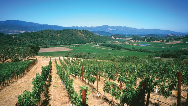 The Stag's Leap District of Napa Valley, Calif. is  gaining worldwide accolades for producing some of the best wines.