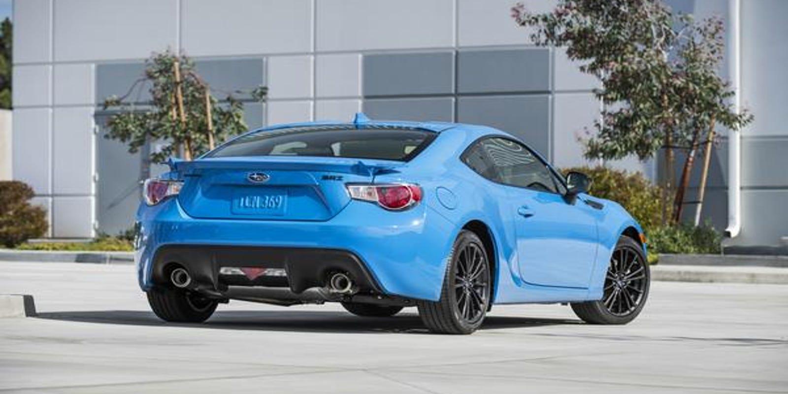 Car Review 2016 Subaru Brz Hyperblue