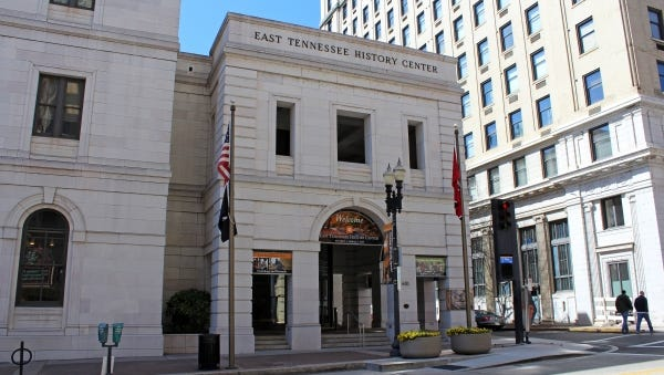 The East Tennessee History Center, 601 S. Gay St., in downtown Knoxville, offers valuable resources for anyone researching family history.