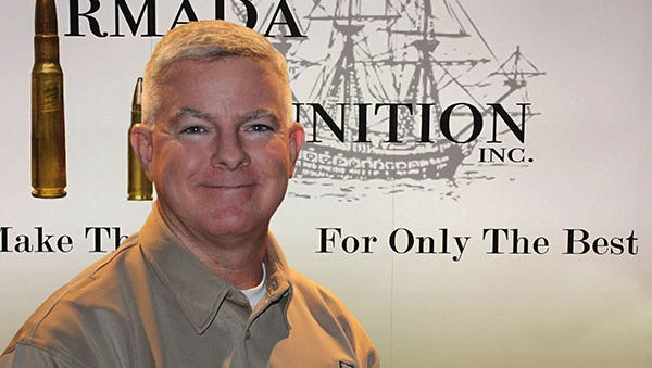 John Coffman, owner and CEO of Armada Ammunition in Greensboro, Fla. is working with the state to bring his company into compliance.