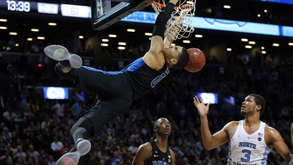 Duke begins play in the 2017 NCAA Tournament on Friday against Troy.