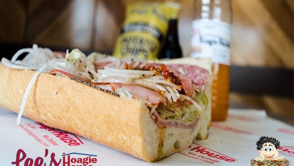 Lee's Hoagie House is opening a location on Sandhill Road.