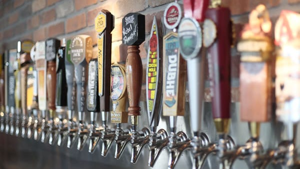 World of Beer-Woodhaven houses a wide selection of brews from around the globe with over 500 bottles and 50 rotating taps daily.