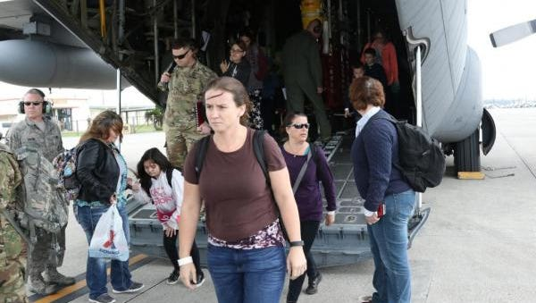 Family members of U.S. military personnel in South Korea participate in  evacuation exercises as non-combatant evacuees, according to the Eighth Army Website.