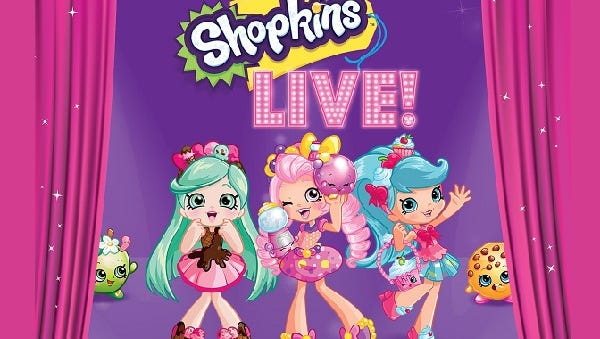 """Shopkins Live!"" will come to life in El Paso on Oct. 25."