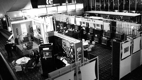 In 1967, CES took place in New York City hotels.