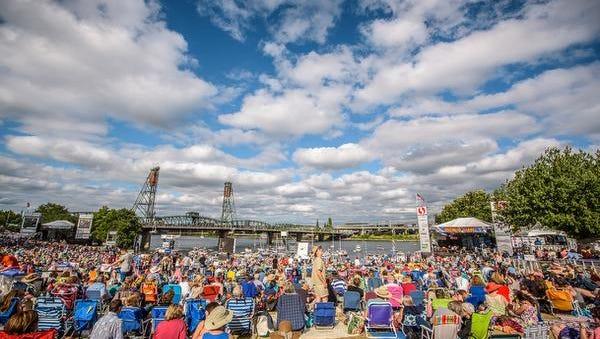 Portland's Waterfront Blues Festival