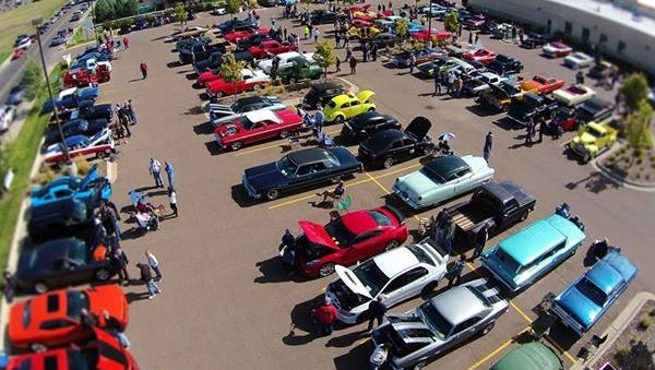 The Men and Machines Car Show returns to the Benefis Sletten Cancer Institute parking lot Saturday, Sept. 9.