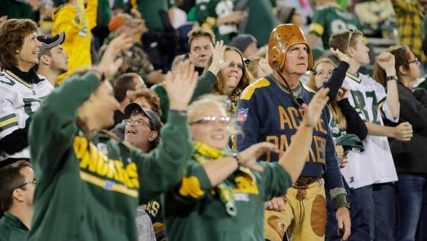 Packers fans will have plenty to cheer about early in the season with five of the first seven games at home.
