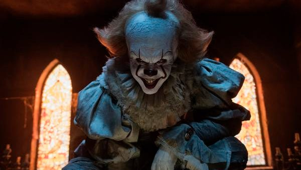 """Bill Skarsgard will creep out moviegoers as the clown in """"It."""""""