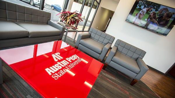 Inside the new Jenkins Building at Austin Peay State University.