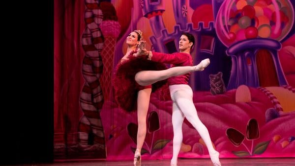 Tatiana Rodriguez and Jose Rodriguez, guest dancers from Puerto Rico, will perform in the Brighton School of Ballet's 32nd annual performance of The Nutcracker Dec. 9-10.