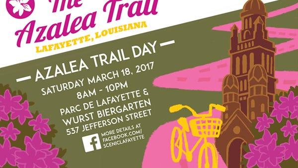 Azalea trail logo