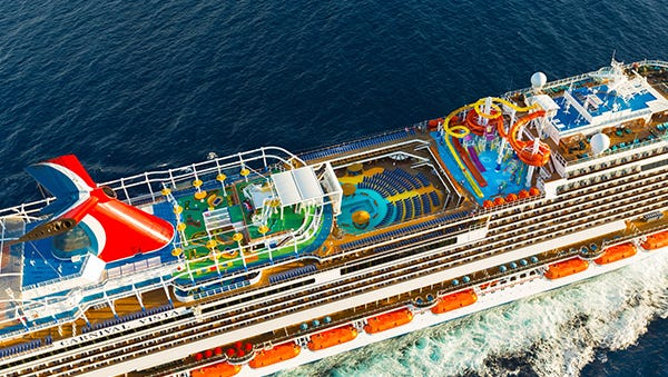 You could win a $4,500 Carnival Cruise Line Gift Card