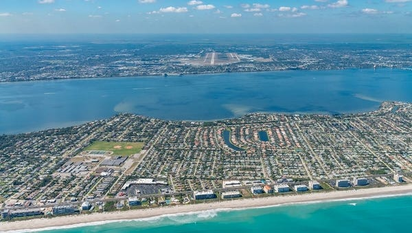 PrivateFly, a private jet booking platform, ranked Orlando Melbourne International Airport as one of the world's most scenic runway approaches.