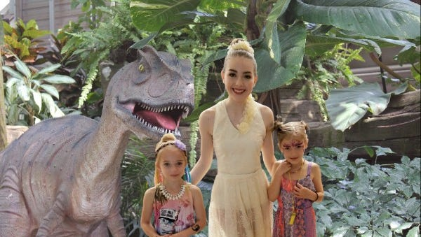The Mitchell Park Domes' Dinos under glass exhibit will open Mother's Day weekend.