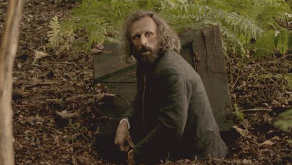 """Borgman (Jan Bijvoet) emerges from his underground hideout in """"Borgman."""""""