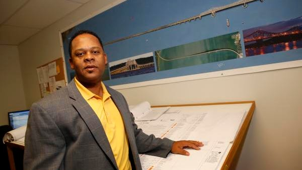 Leon Baptiste, President and CEO of LB Electric Co., at his office in Cedar Grove, New Jersey on Oct. 16, 2014.