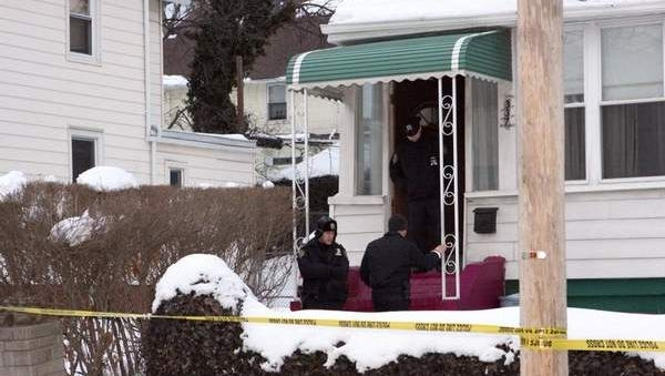 Authorities on Feb. 12, 2014, investigate the death of 85-year-old Emma Gruber in her home on South Sixth Avenue in Mount Vernon.