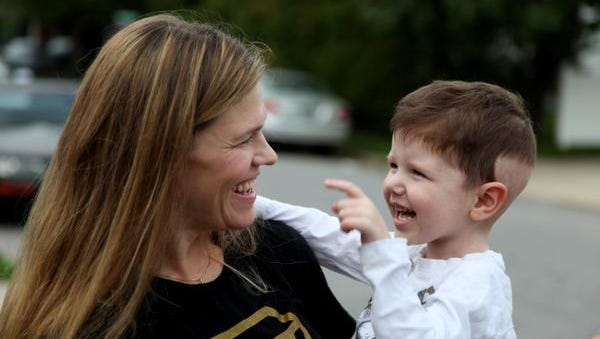 Cindy Campbell, with her son Ty, in December of 2011. Ty died in October 2012. ( Campbell family photo )