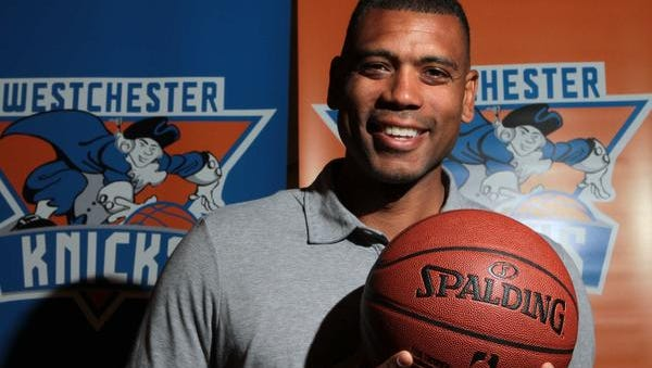 Former star player Allan Houston is general manager of the Westchester Knicks of the NBA Development League.